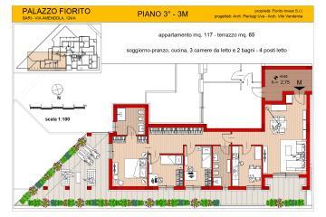 Appartamento M - Piano  3°  € 457.000,00